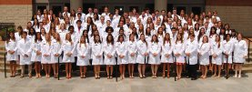 2015 CVM White Coat students