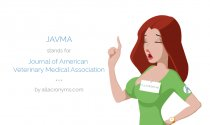 JAVMA stands for Journal of